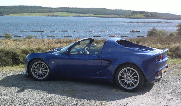 Lotus Elise Honda engine