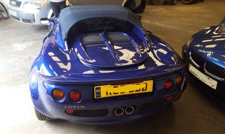 Lotus Elise S1 rear