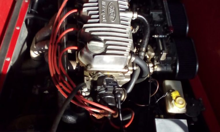 Westfield engine bay ford