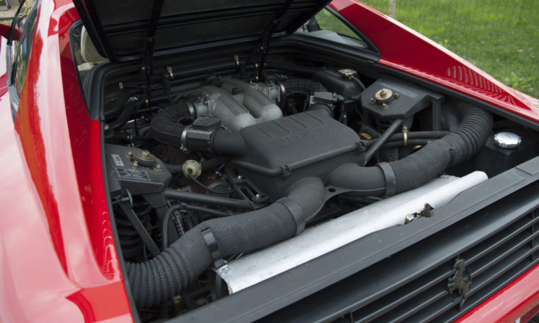 Ferrari 348 engine bay