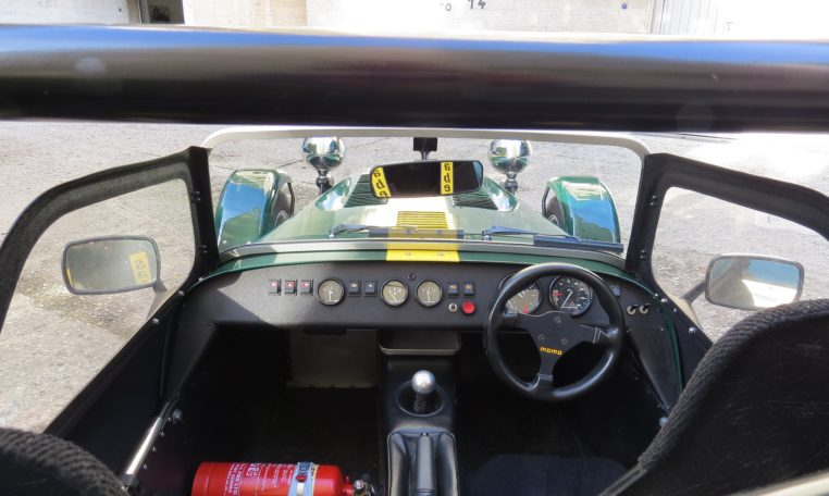 Caterham 7 dash interior