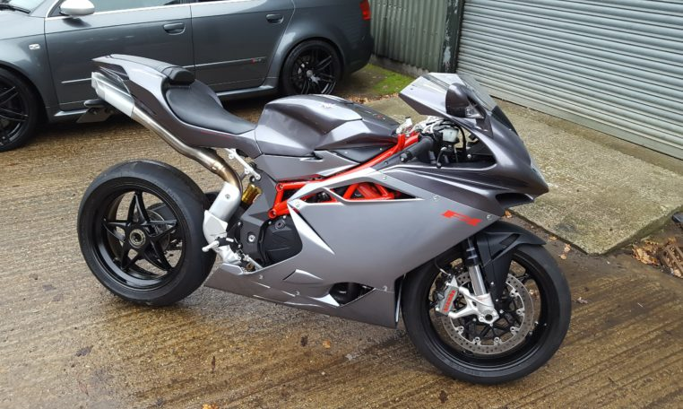 MV AGUSTA F4 1000R bike