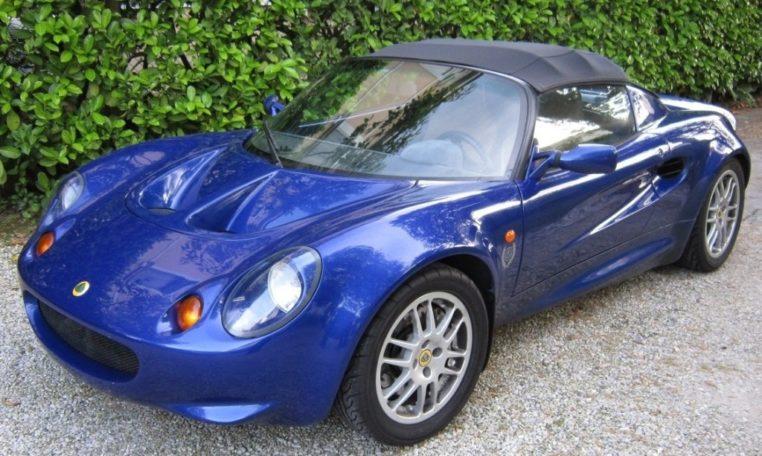 Lotus Elise S1 blue