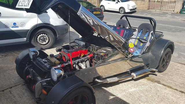 Robin hood front engine bay